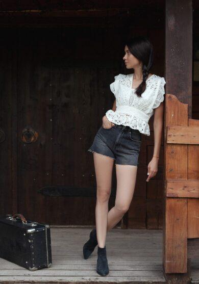 KSUBI джинсовые шорты
