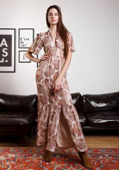 Платье из вискозы BA&SH