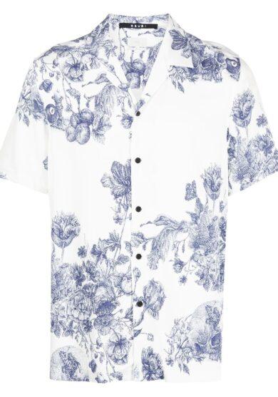 KSUBI Рубашка с принтом